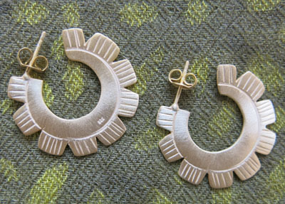 Tribal Earrings, Thailand