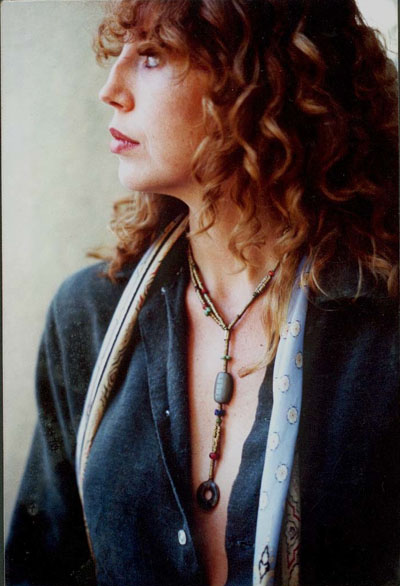 Patti wearing Signature Noel Neckpiece 1970's